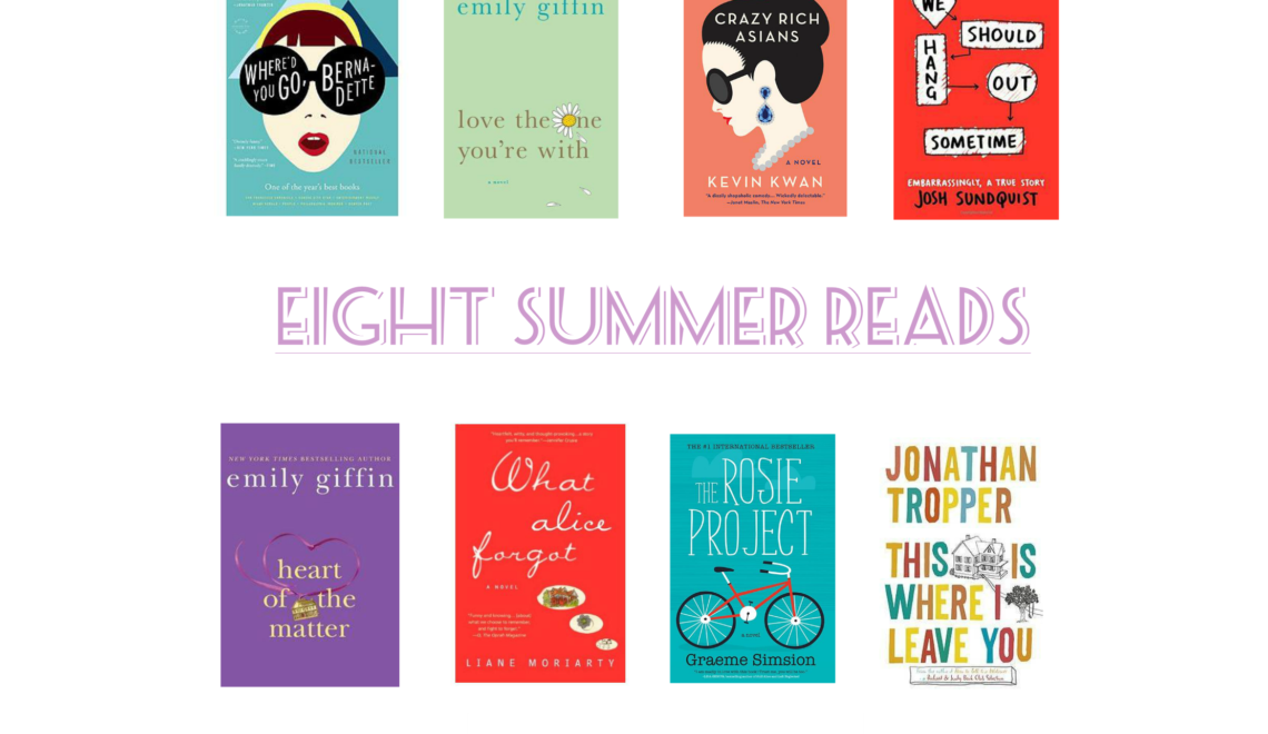 Eight Summer Reads