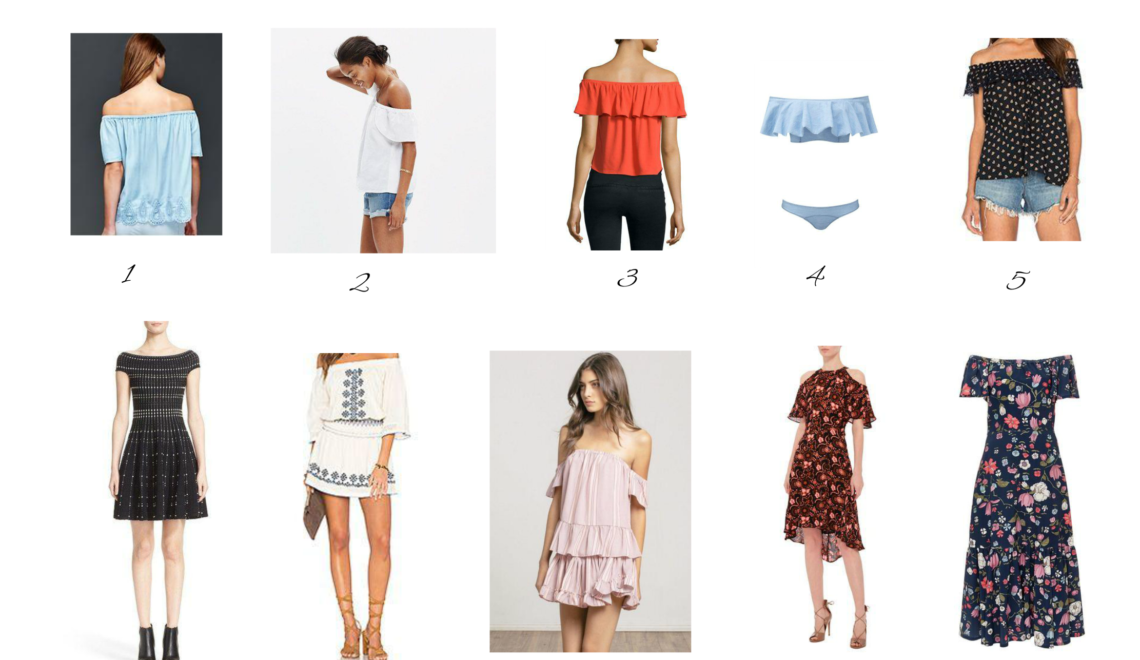 Trend: Off-The-Shoulder