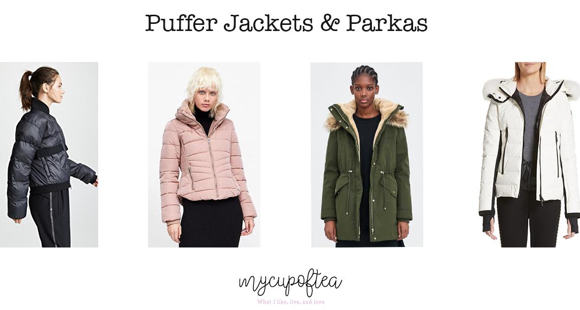Puffer Jackets + Parkas